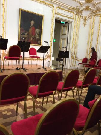 Schloss Schönbrunn Orchester: These are the so called rows...first row 55euro and the one behind it 39...rip off