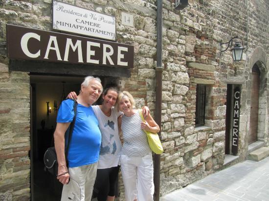Residenza di Via Piccardi: Con la simpaticissima Federica