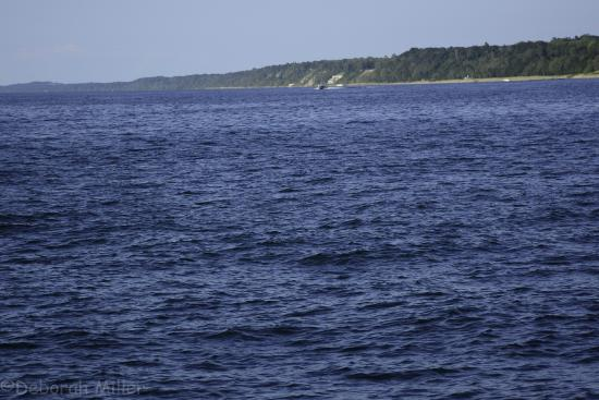 St. Joseph Lighthouses: view from the pier into the water!
