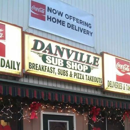 Danville Sub Shop: home delivery