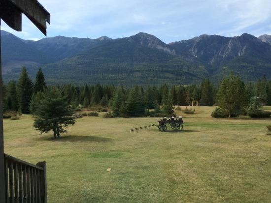 Nipika Mountain Resort: view from porch