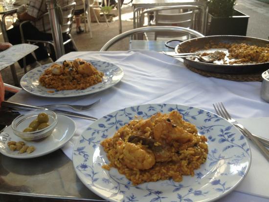 La Ciudadela: restaurant dishes