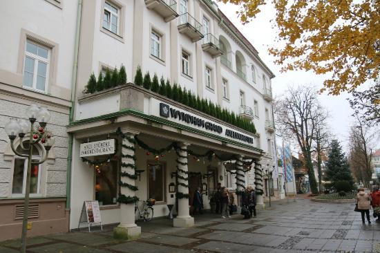 Wyndham Grand Bad Reichenhall Axelmannstein: Advent am Hotel