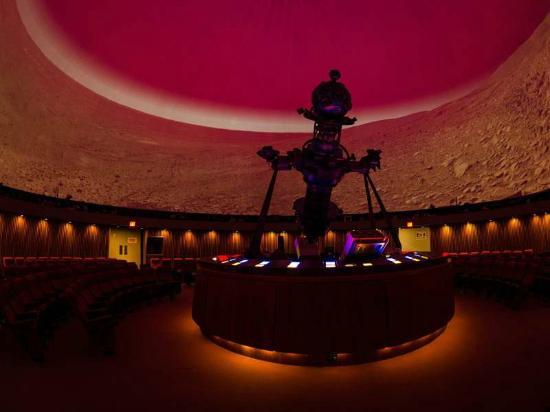 Manitoba Museum: new digistar technology at the Planetarium