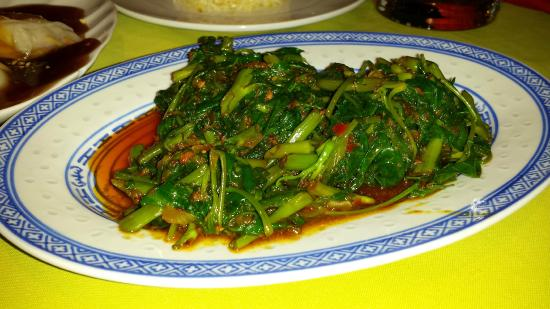 Malapascua Exotic Bar & Restaurant: Very tasty spinach dish