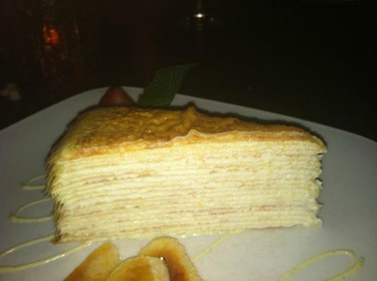 Tredici Steak: The incredible 20 layer crepe cake