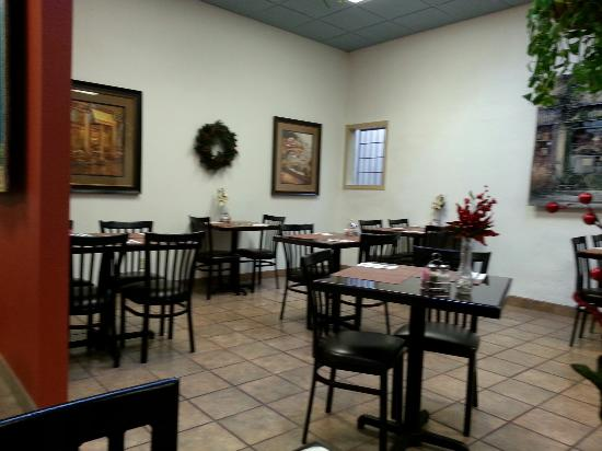A Bite of Belgium: Back dining area