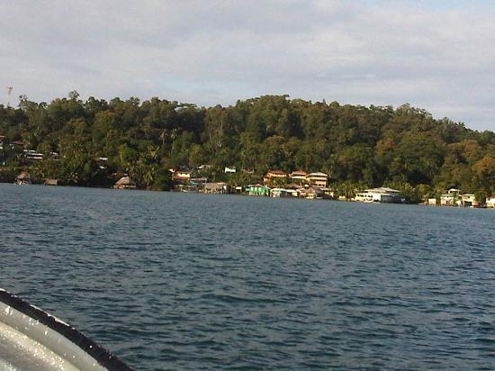 Hotel Caribbean View: Mon arrivee en bateau