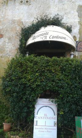 Il Cantinone: ingresso