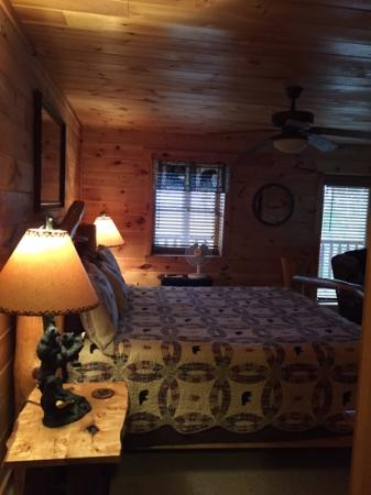 Timberwinds Log Cabins: Amazing Smoky View basement suite