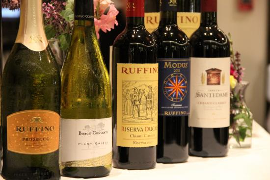 Chapel Grille : Ruffino Wine Dinner Selection