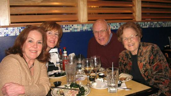 The Fish Company: Celebrating Mom's birthday