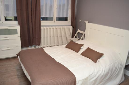 Marcilly-sur-Tille, France : chambre double standart