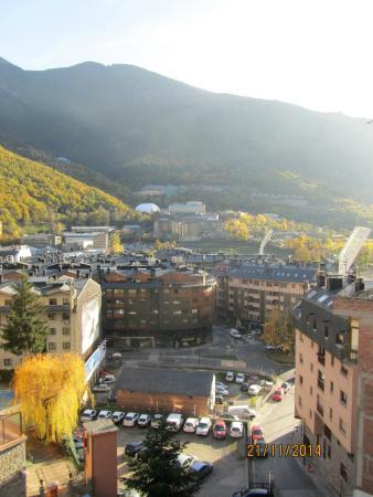 Hotel Sant Jordi: widok z balkonu