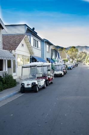 Pavilion Hotel: Golf Carts Instead Of Cars