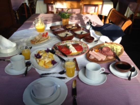 Landhaus San Sebastian: Frühstück
