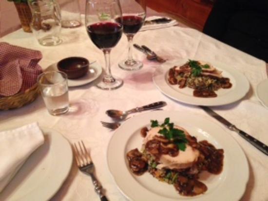 Landhaus San Sebastian: Abendessen