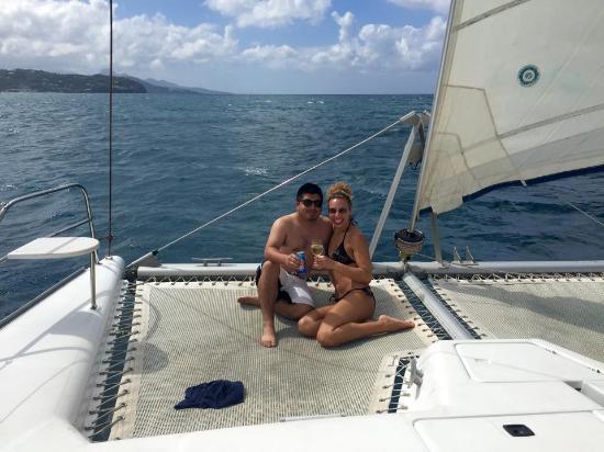 Bateau Mygo Sailing Charters: Sailing in St. Lucia