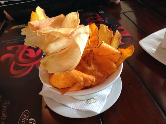 Cafe Plaza Grande : Entrada cortesía