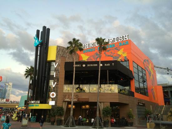 The Cowfish Sushi Burger Bar At Universal Citywalk