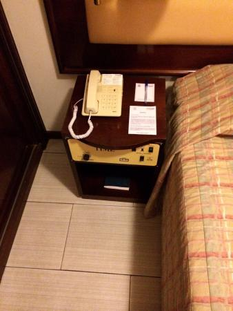 The Time Othon Suites: Dated a/c control system that works quite well