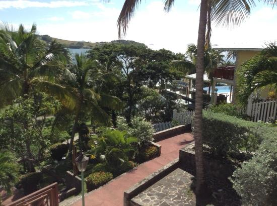 Bequia Beach Hotel Luxury Boutique Hotel & Spa: view from our room no 1