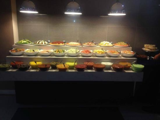 Mirpuri Dhera: Starter/Salad Bar (Photo taken from their Facebook Page)