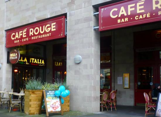 Cafe Rouge, Salford Quays