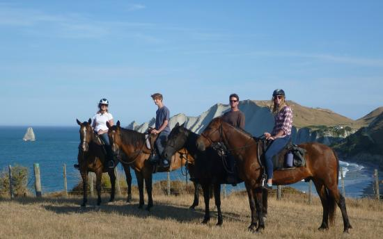 The Farm at Cape Kidnappers: Horsetrek at CK