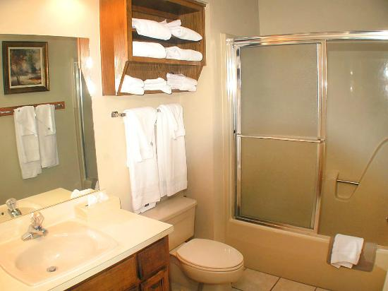 The Greens II Resort at Bella Vista Village: guest bath