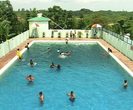 Zastat Holiday Resort : Swimming Pool : Excelsior Sylhet hotel & resort
