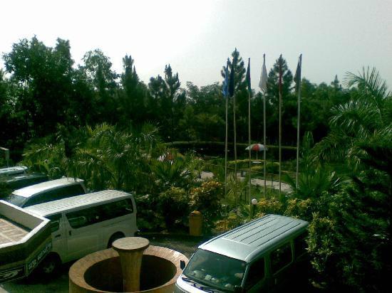 Zastat Holiday Resort : Tennis Court : Excelsior Sylhet hotel & resort