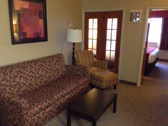 Comfort Suites Denver Tech Center : Sitting area.