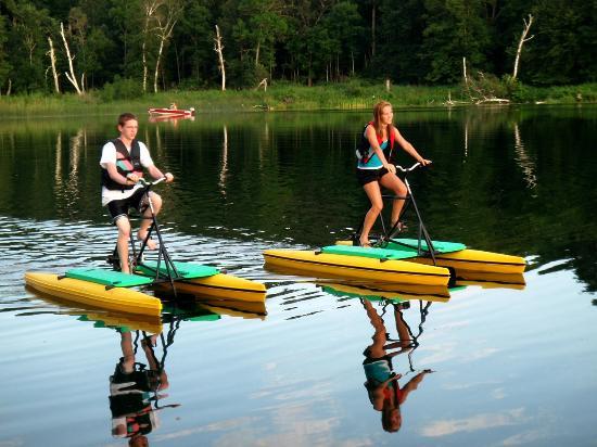 Pine Terrace Resort : Water Bike Fun!