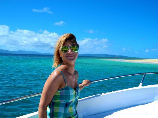 Emaho Sekawa Resort: Perfect boat trip