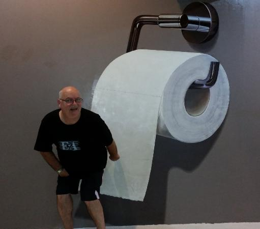 Art In Paradise Chiang Mai Museum Large Toilet Paper For A