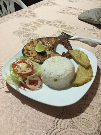 San Rafael - Tourist Inn in Tayrona: Swordfish for Dinner