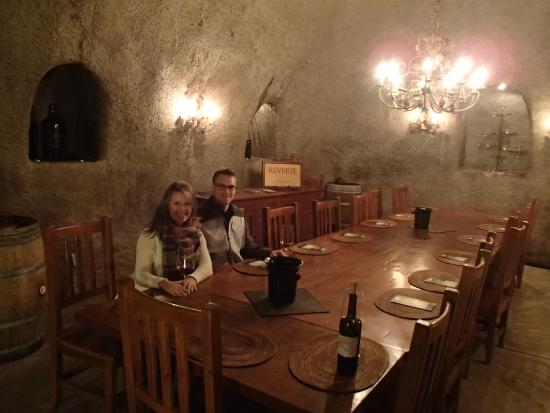 Reverie Winery: Wine Cellar