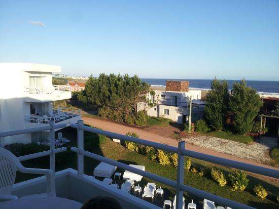 Las Olas Resort Hotel Punta Del Este: Vista a Océano y Manantiales