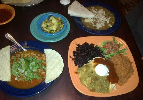 daily pie selections Picture of Green Chile Kitchen