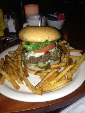 Lake Almanor Tavern: One of the BEST burgers I can remember having....ever!  Homemade French fries....juicy beef and