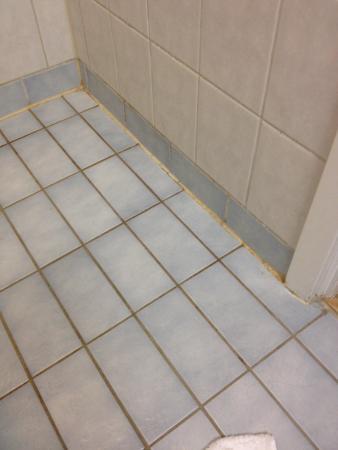 Scandic Hotel Uplandia: Lidt snusket på badeværelset.