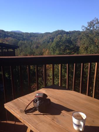 Hemlock Hills Resort: My view at Memory  Maker Cabin