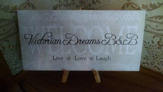 Victorian Dreams Bed and Breakfast: Thank you for your warm hospitality!!!