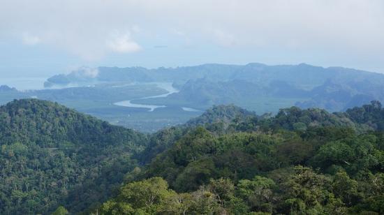 Gunung Raya: Blick vom View Tower