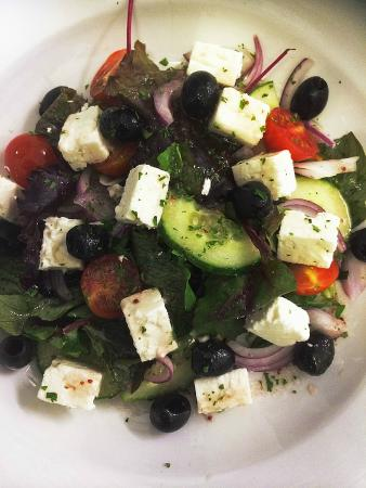 West Shore Beach Cafe: Feta cheese salad