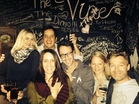 The Vine: Friend in the pub