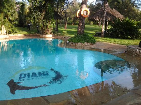 Diani Marine Divers Village: Pool