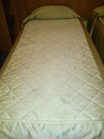 Hotel Belmont: Les couvres-lits