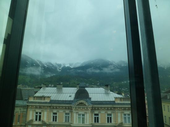 The Penz Hotel: Vista dos Alpes